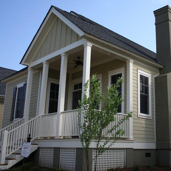 Board And Batten Accent Southern Charm House Home Builder Sc