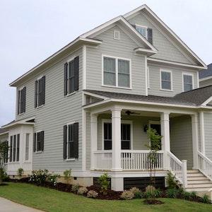 Multi Gabled House Cedar Shake Siding Home Builder Sc