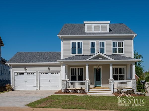 Exterior Of New Craftsman Home Saluda River Club, Lexington, SC