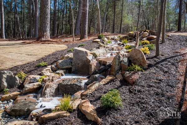 Landscaping Waterfall Feature