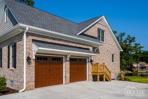 Mahogany Garage Doors