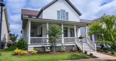 South Carolina Home Front Porch