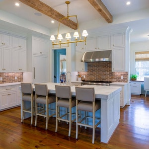Kitchen Island Bar Marble Counter Home Builder Sc