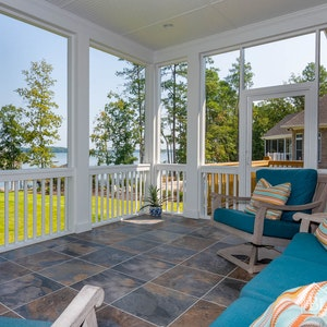 Back Porch With Lake View