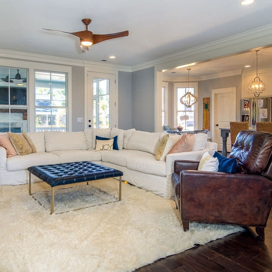 Gorgeous Great Room With Kitchen Home Builder Sc