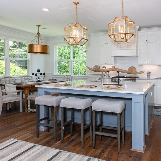 South Carolina Custom Home Kitchen