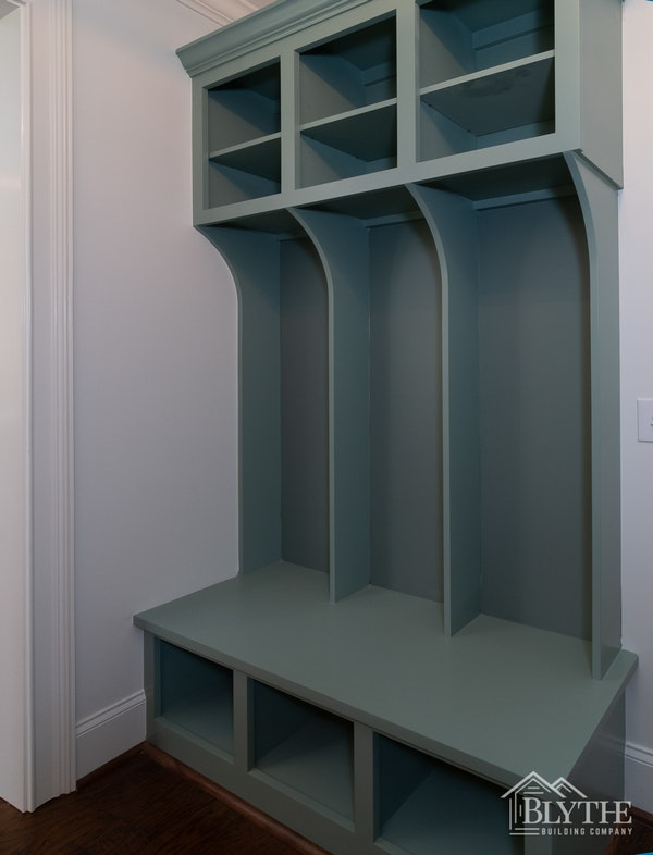 Built In Mudroom Bench And Cubbies